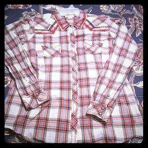 Ariat women's button up shirt!